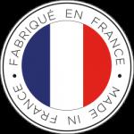 Logo Made in France avec le drapeau français
