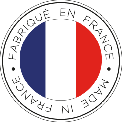 Logo Made in France avec le drapeau français