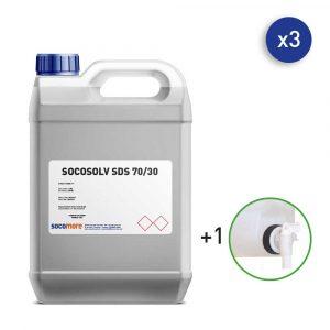 bidon de nettoyant et désinfectant pour les surfaces 5 litres SOCOSAFE
