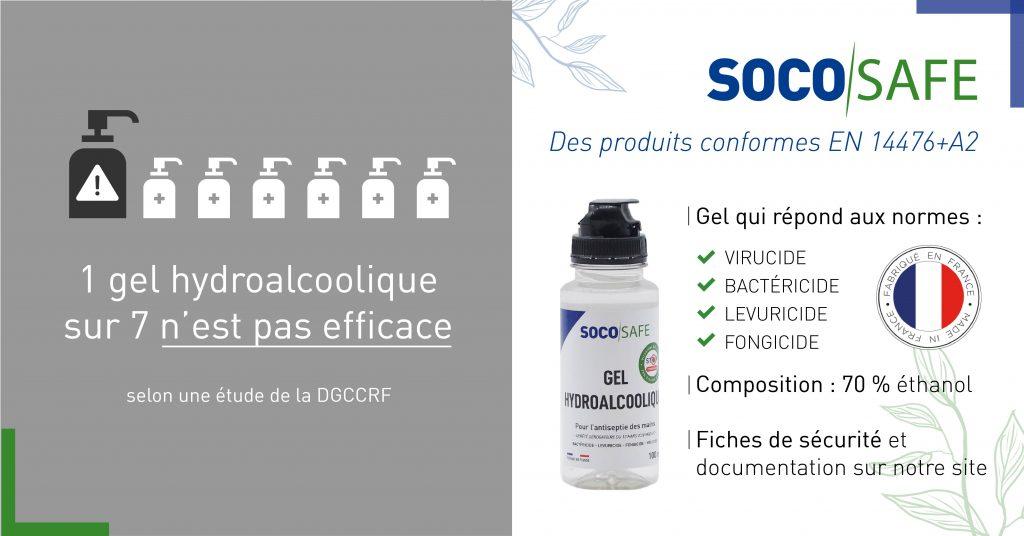alerte sur des gels hydroalcooliques non conformes sur le marché