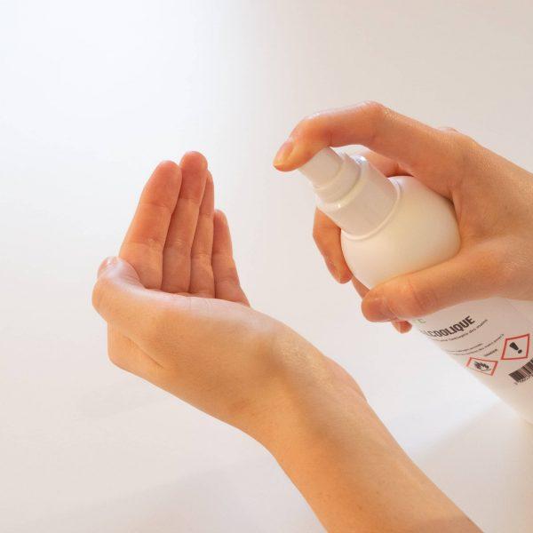 Solution hydroalcoolique en spray de 250ml